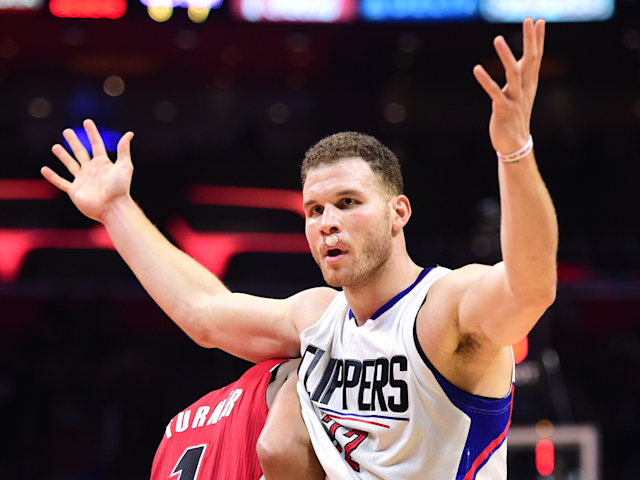 Blake Griffin is not the only one stunned by his trade to the Detroit Pistons. (Getty)
