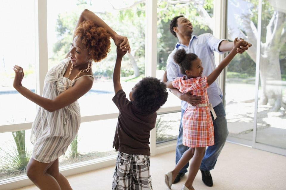 <p>There are few more fun ways to celebrate than with a good dance party, and Dad will love to spend some time on Father's Day rocking out to his favorite tunes. </p>