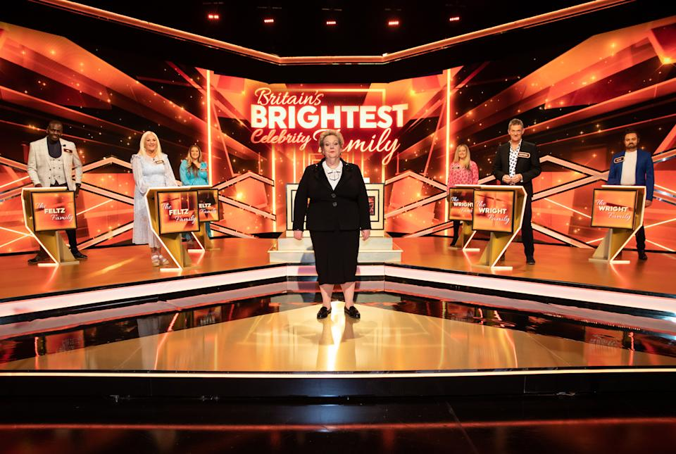 The Feltz Family go head-to-head against The Wright Family. (ITV)