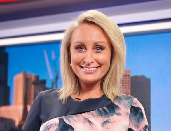 Weather presenter Jane Bunn