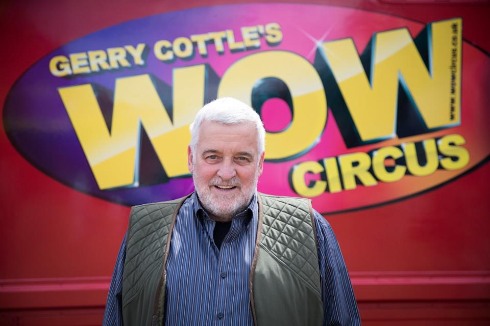 Later in his career Cottle helped pioneer animal-free circus performances and reportedly stopped using animals in shows during the 1990sGetty Images