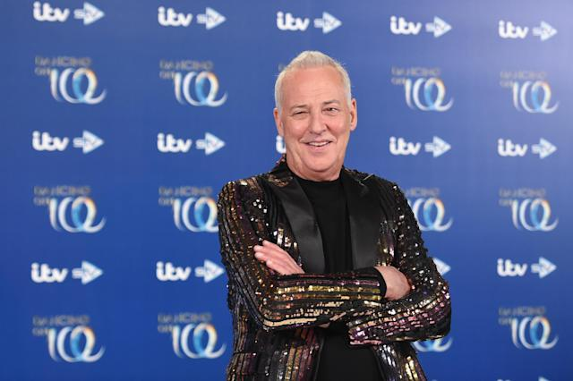 Michael Barrymore during the Dancing On Ice 2019 photocall at ITV Studios on December 09, 2019 in London, England. (Stuart C. Wilson/Getty Images)