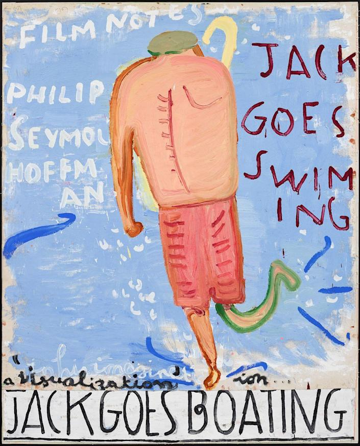 Photo credit: Courtesy of Rose Wylie and David Zwirner