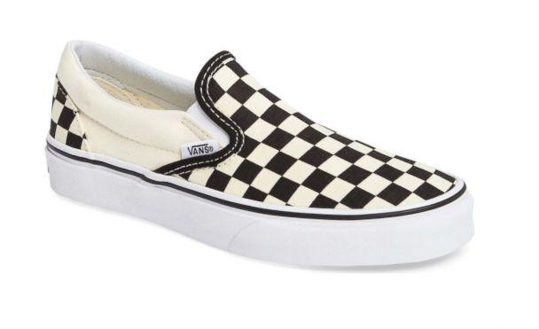 PHOTO: If you're not ready to do the fashion-forward 'Dad sneaker' trend that seems to be everywhere, take heart in these sleek, classic slip-ons that will always be cool. (Vans)