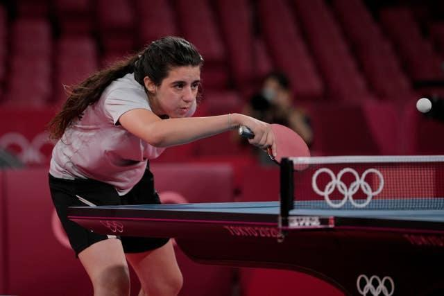 Hend Zaza is the youngest competitor at Tokyo 2020 (Kin Cheung/AP/PA)