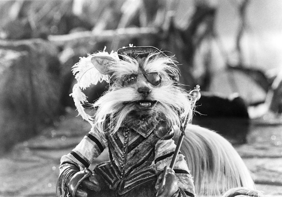 Froud designed the fan favorite 'Labyrinth' character, Sir Didymus, after medieval knights known as Landsknechts (Photo: TriStar Pictures/courtesy Everett Collection)
