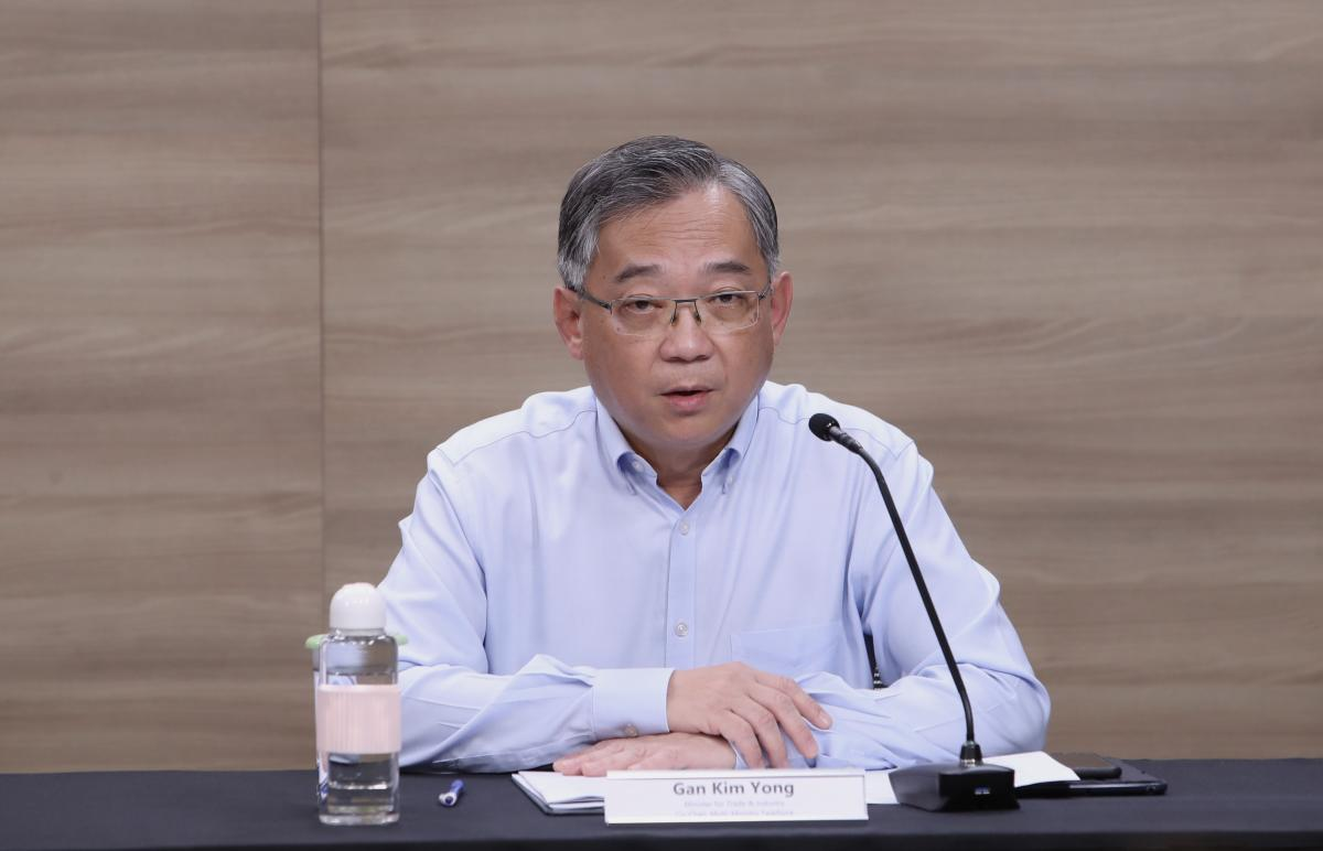 Bloomberg forum: Not 'practical' to extend dining in for 5 to Singaporeans – Gan Kim Yong