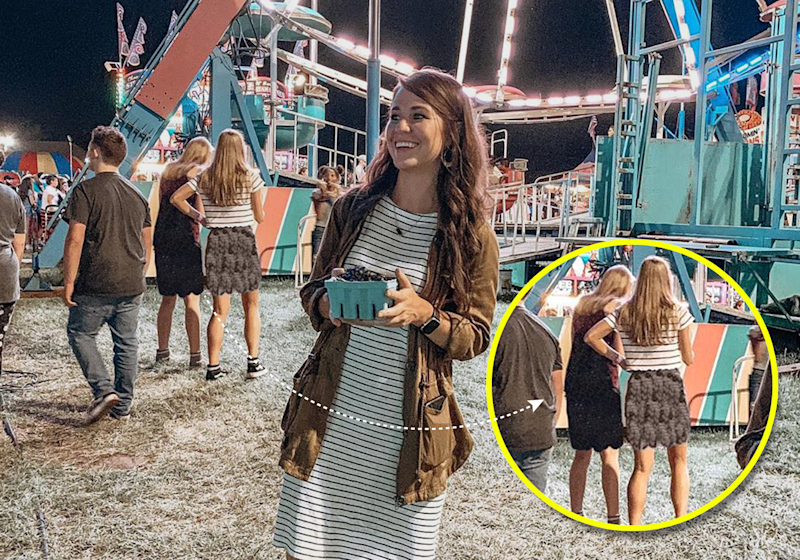 Critics believe that the women were wearing shorts deemed inappropriate by Duggar's standards. (Photo: Instagram)