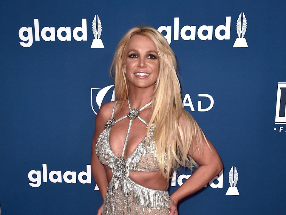 Britney Spears speaks on her conservatorship in a court appearance  (Getty Images)