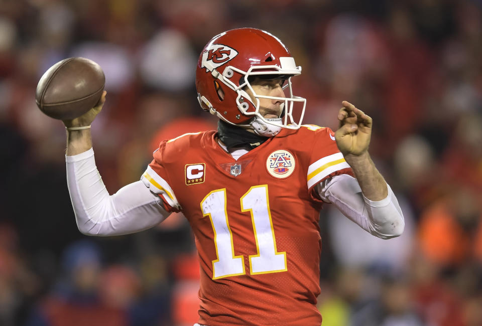 The Kansas City Chiefs have reportedly agreed to trade Alex Smith to Washington. (AP)