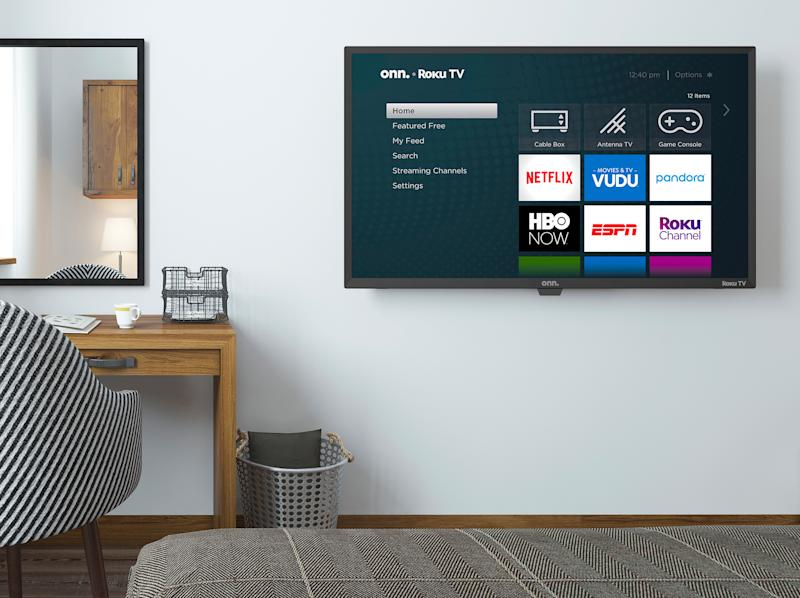 This 32-inch smart TV is on sale for only 99 bucks right now!(Photo: Walmart)
