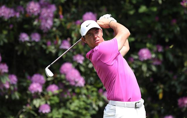 Golf - European Tour - BMW PGA Championship - Wentworth Club, Virginia Water, Britain - May 27, 2018 Northern Ireland's Rory McIlroy in action during the final round Action Images via Reuters/Peter Cziborra