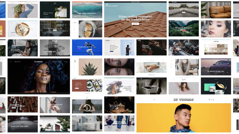 Site Makeover makes it easy to see your website in more than 20 different engaging layouts or themes, all in a single glance.