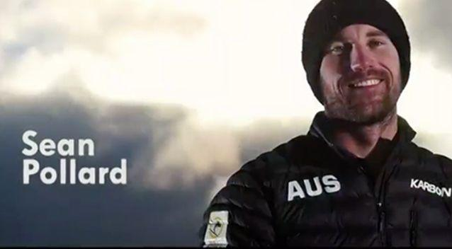 Mr Pollard will be competing in the Paralympics. Source: 7 News