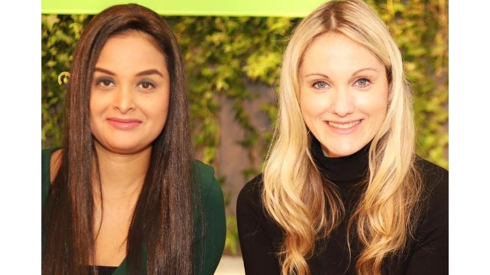 Fatima Zaidi, CEO of Quill, and Erin Bury, CEO of Willful.