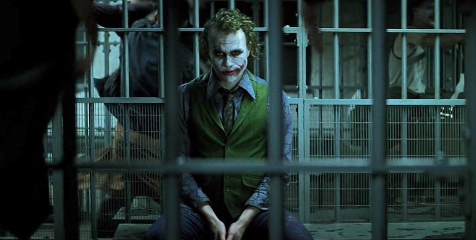 If Batman caught the Joker during the fundraiser, that would have tied up the movie pretty nicely.