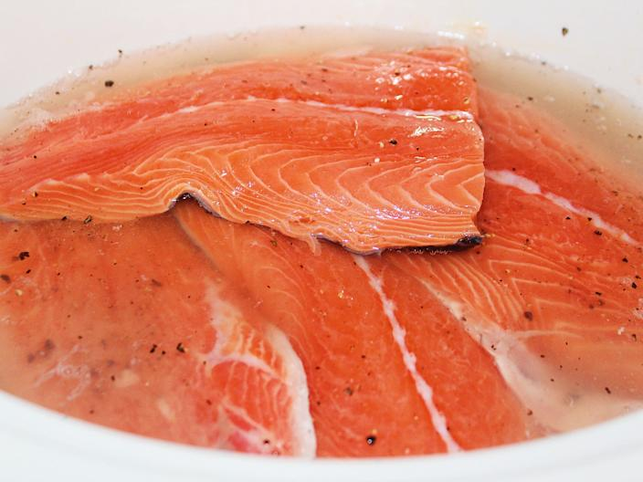salmon fillets in slow cooker