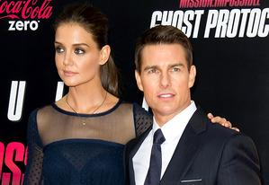 Katie Holmes and Tom Cruise | Photo Credits: Gilbert Carrasquillo/FilmMagic