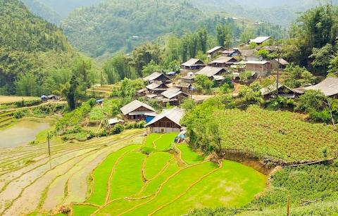 Akha villages in Sapa - Credit: iStock