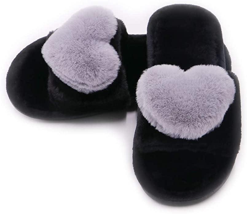<p>These purple <span>Fuzzy Fluffy Furry Fur Slippers</span> ($13) are so fun.</p>