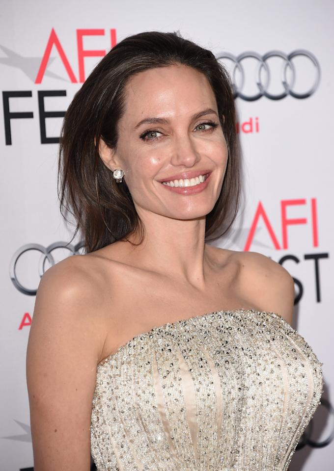 <p>Let's just all take a moment to appreciate the fact that Angelina Jolie is 41 and a total knockout. <i>[Photo: Getty]</i></p>