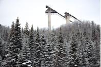 """<p>Home to the 1980 Winter Olympics, the working ski jumps loom large over the town, and you can brush up on your history of the """"Miracle on Ice"""" at the <a href=""""https://www.lakeplacid.com/do/activities/lake-placid-olympic-museum"""" rel=""""nofollow noopener"""" target=""""_blank"""" data-ylk=""""slk:Lake Placid Olympic Museum"""" class=""""link rapid-noclick-resp"""">Lake Placid Olympic Museum</a>. Those that don't want to try their hand at skiing or ice skating, can indulge in shopping small. </p>"""