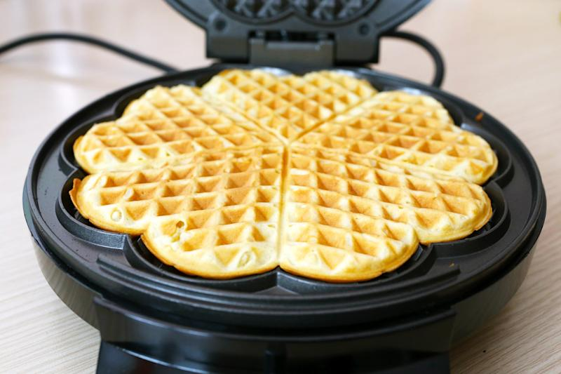 """""""I rely on my stash of waffles and pancakes that I've made ahead of time and frozen,"""" said registered dietitian nutritionist Jessica Beacom. (ivolodina via Getty Images)"""