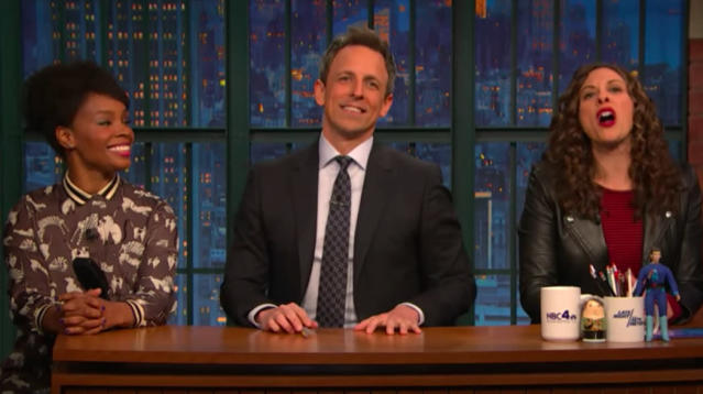 Seth Meyers Invites Black, Gay Writers To Finish Jokes He 'Can't Tell'