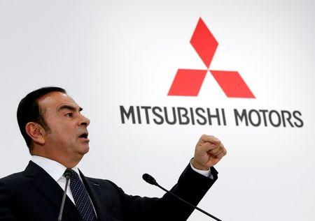 Carlos Ghosn rules out Mitsubishi's merger with Nissan Motor