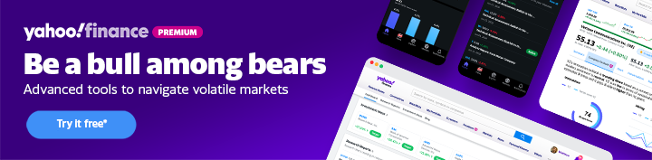 Yahoo Finance Premium banner