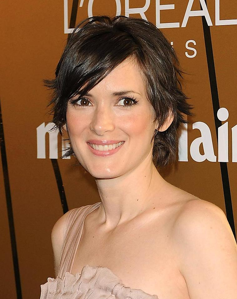 "Although it's hard to believe, Winona Ryder is also a natural blonde.The 39-year-old actress says she's been dyeing her hair ever since she was asked to do so for her debut film, ""Lucas,"" in 1986. Fotonoticias/<a href=""http://www.wireimage.com"" target=""new"">WireImage.com</a> - November 20, 2008"