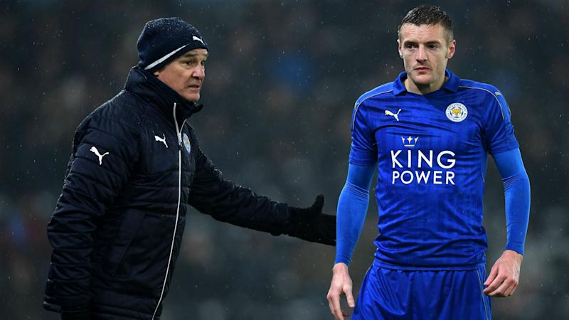 Vardy received death threats after Ranieri sacking
