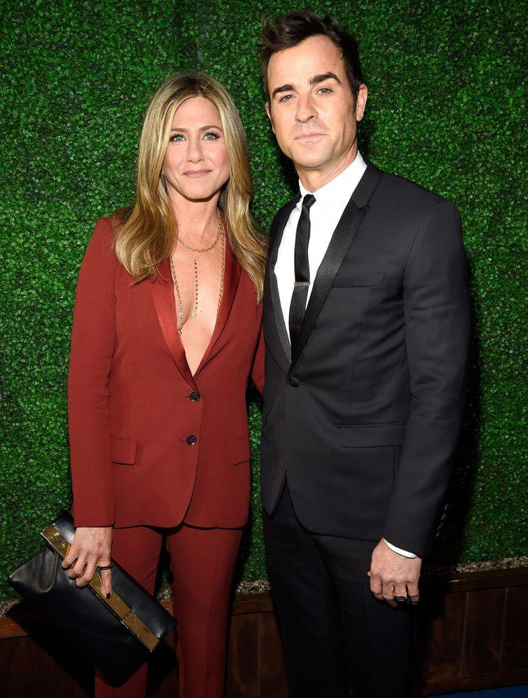 Jennifer Aniston and Justin Theroux in 2015.