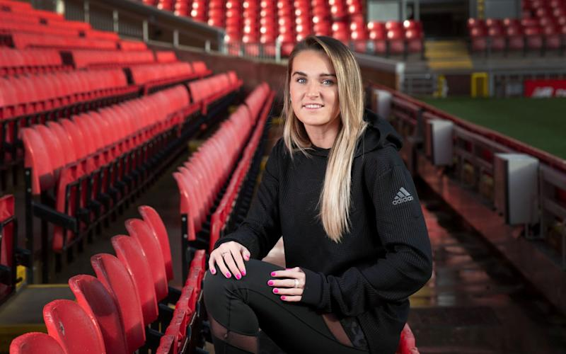 Melissa Lawley knows the role social media plays in promoting the women's game - paul cooper