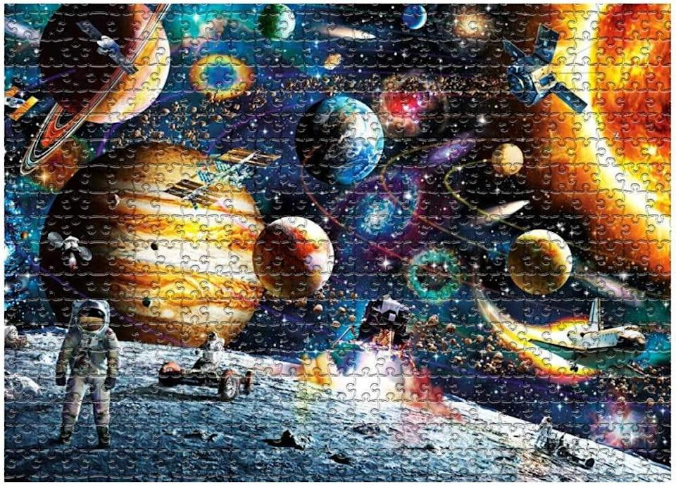 Space Puzzle 1000 Piece Jigsaw (Photo: Amazon)