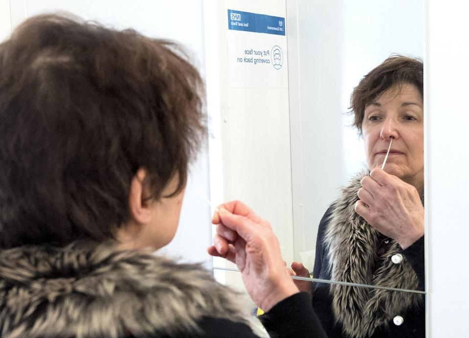 Almost 700 million lateral flow tests have been handed out as part of a mass rollout of regular household testing (PA Wire)