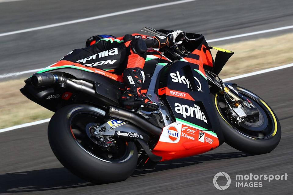 "Bradley Smith, Aprilia Racing Team Gresini<span class=""copyright"">Gold and Goose / Motorsport Images</span>"