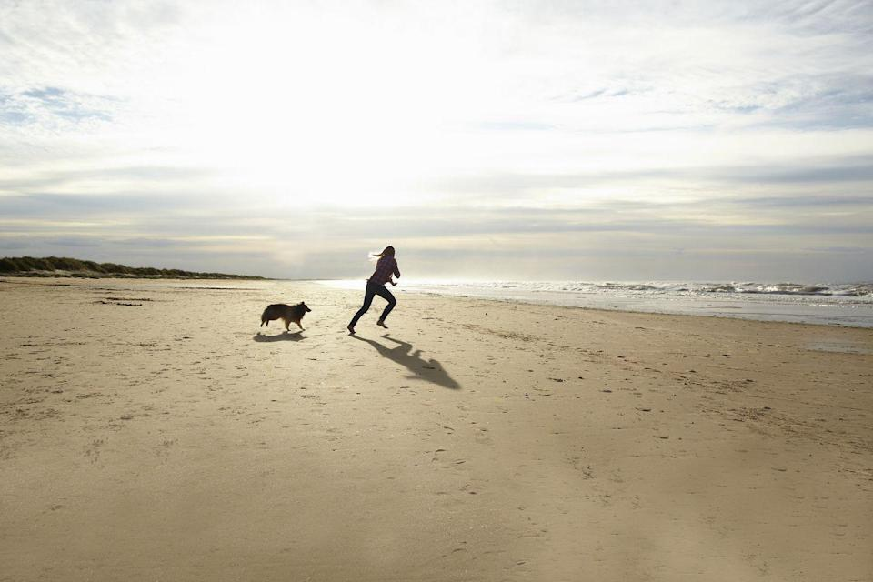 """<p>This stretch of fine honey-hued sand is the perfect playground for kids, as well as being one of the best dog-friendly beaches in Norfolk. </p><p>Owned by the National Trust as part of the Brancaster Estate, it's an Area of Outstanding Natural Beauty. Facilities here are relatively minimal, but some might say that's part of the charm.</p><p><strong>Where to stay:</strong> Check into the charming 16th century <a href=""""https://go.redirectingat.com?id=127X1599956&url=https%3A%2F%2Fwww.booking.com%2Fhotel%2Fgb%2Flifeboat-inn.en-gb.html%3Faid%3D2070936%26label%3Dnorfolk-beaches&sref=https%3A%2F%2Fwww.redonline.co.uk%2Ftravel%2Ftravel-guides%2Fg34735930%2Fnorfolk-beaches%2F"""" rel=""""nofollow noopener"""" target=""""_blank"""" data-ylk=""""slk:Lifeboat Inn"""" class=""""link rapid-noclick-resp"""">Lifeboat Inn</a> at Thornham, around 10 minutes' drive from Brancaster Beach. The cosy pub boasts direct access to the coastal path, and you could actually walk to Brancaster beach in an hour if you were feeling energetic. The hotel overlooks the marshes and is located near the RSPB Titchwell Marsh. Nearby Thornham Beach, one of the most remote in North Norfolk, is perfect if you like like privacy and seclusion. </p><p><a class=""""link rapid-noclick-resp"""" href=""""https://go.redirectingat.com?id=127X1599956&url=https%3A%2F%2Fwww.booking.com%2Fhotel%2Fgb%2Flifeboat-inn.en-gb.html%3Faid%3D2070936%26label%3Dnorfolk-beaches&sref=https%3A%2F%2Fwww.redonline.co.uk%2Ftravel%2Ftravel-guides%2Fg34735930%2Fnorfolk-beaches%2F"""" rel=""""nofollow noopener"""" target=""""_blank"""" data-ylk=""""slk:CHECK AVAILABILITY"""">CHECK AVAILABILITY</a></p>"""