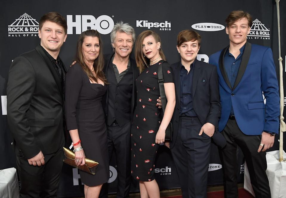 Jon Bon Jovi & Wife Dorothea Quarantined with All 4 Kids: 'Our Focus Has Always Been Family First'