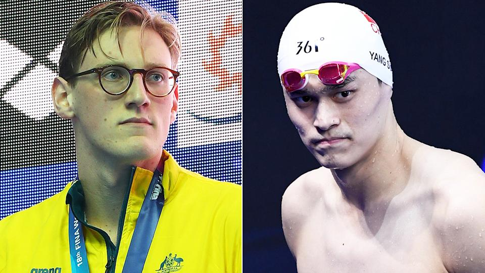 Australian swimmer Mack Horton has welcomed news of Chinese rival Sun Yang's eight-year ban from the sport, for doping-related charges. Pictures: Getty Images