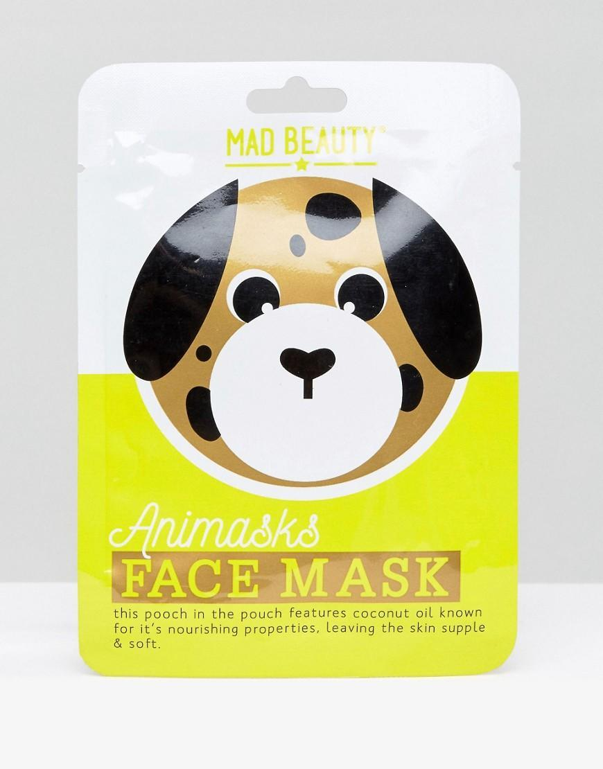 <p>If you thought that sheet masks look too much like a villain from a horror film, ASOS have got costume versions. This dog sheet mask, actually looks like a dog's face! Also avalailable in Panda and Tiger designs, this mask is enriched with nourishing coconut oil to leave skin supple and soft.<br> Buy here </p>