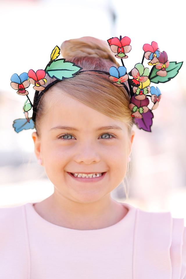 <p>It's the final day of the Melbourne Cup carnival, and kids get the opportunity to be a part of the fashions on the field.</p>