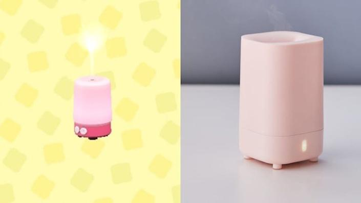 How precious is this pink fragrance diffuser?