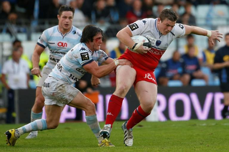 Ireland's Denis Coulson -- seen here holding the ball during a 2015 French league match against Racing Metro 92 -- is one of three Grenoble players who have been charged with gang rape