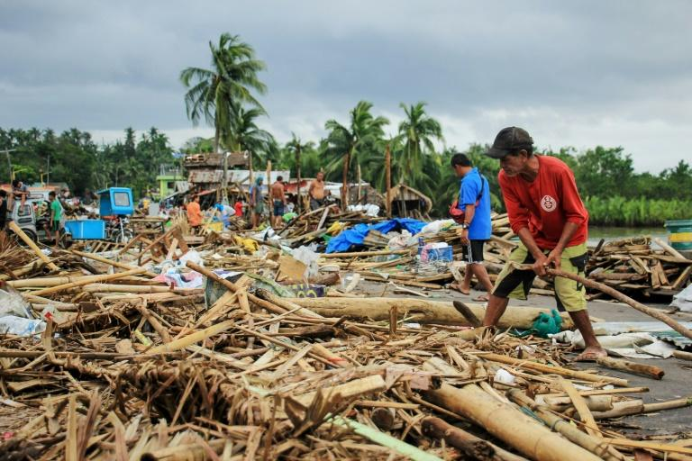 In the Philippines, Typhoon Kammuri wrought havoc on islands and provinces south of the capital Manila