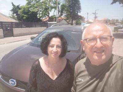 GE3 owner Mr. Ben Hion travels with his wife