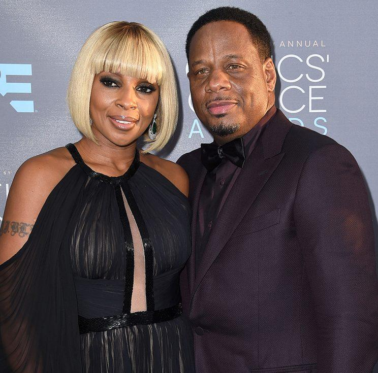 Mary J. Blige and Martin
