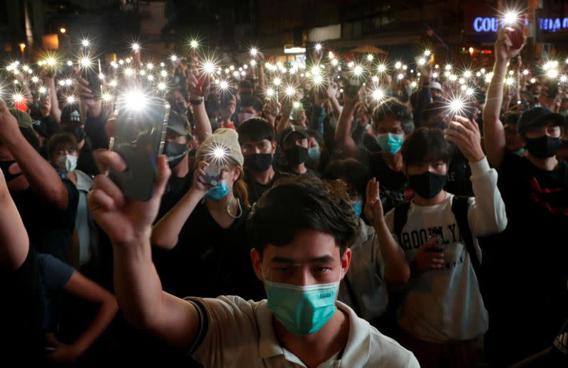 Timeline: Thai protests grow in defiance of ban