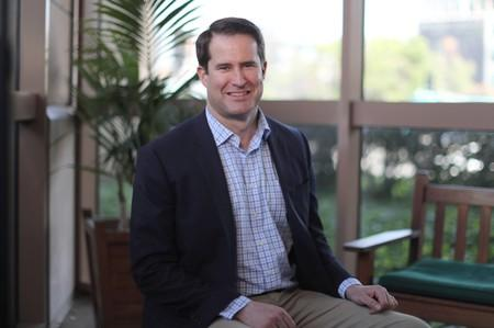FILE PHOTO: U.S. Democratic presidential candidate Seth Moulton poses for a photo in Burbank