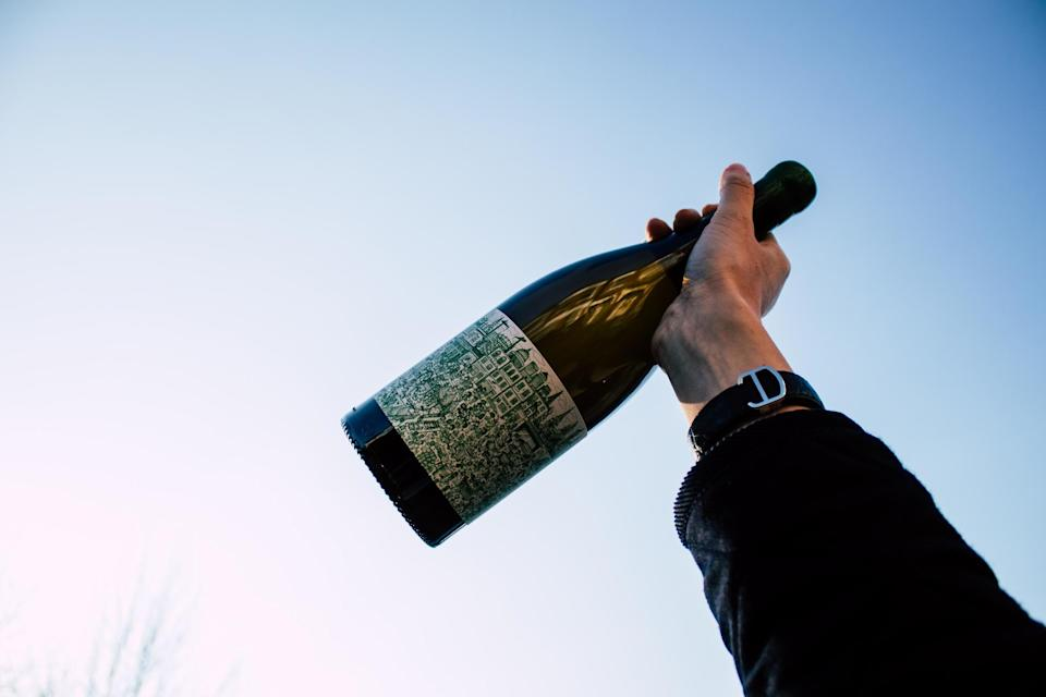 <p>Drink on: a bottle from Rebellious Goods</p> (Rebellious Goods)